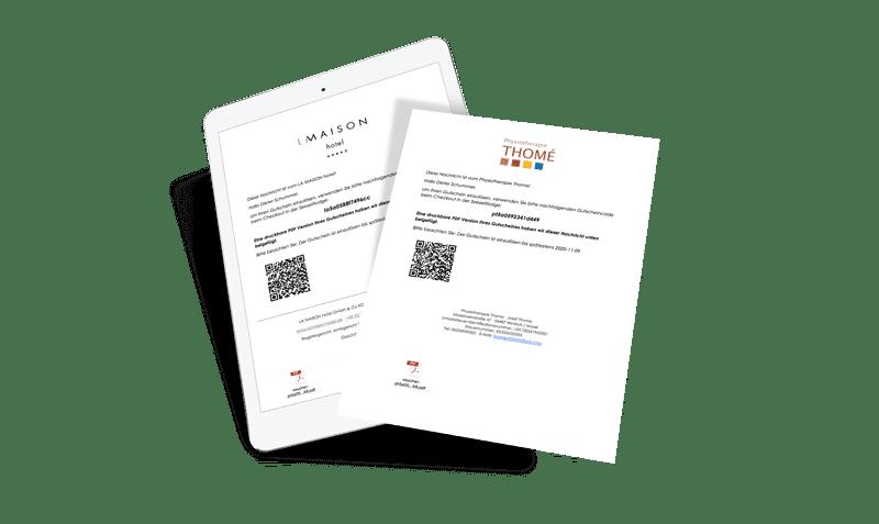 simpliby-GutscheinSystem-funktionen-e-mail-versand